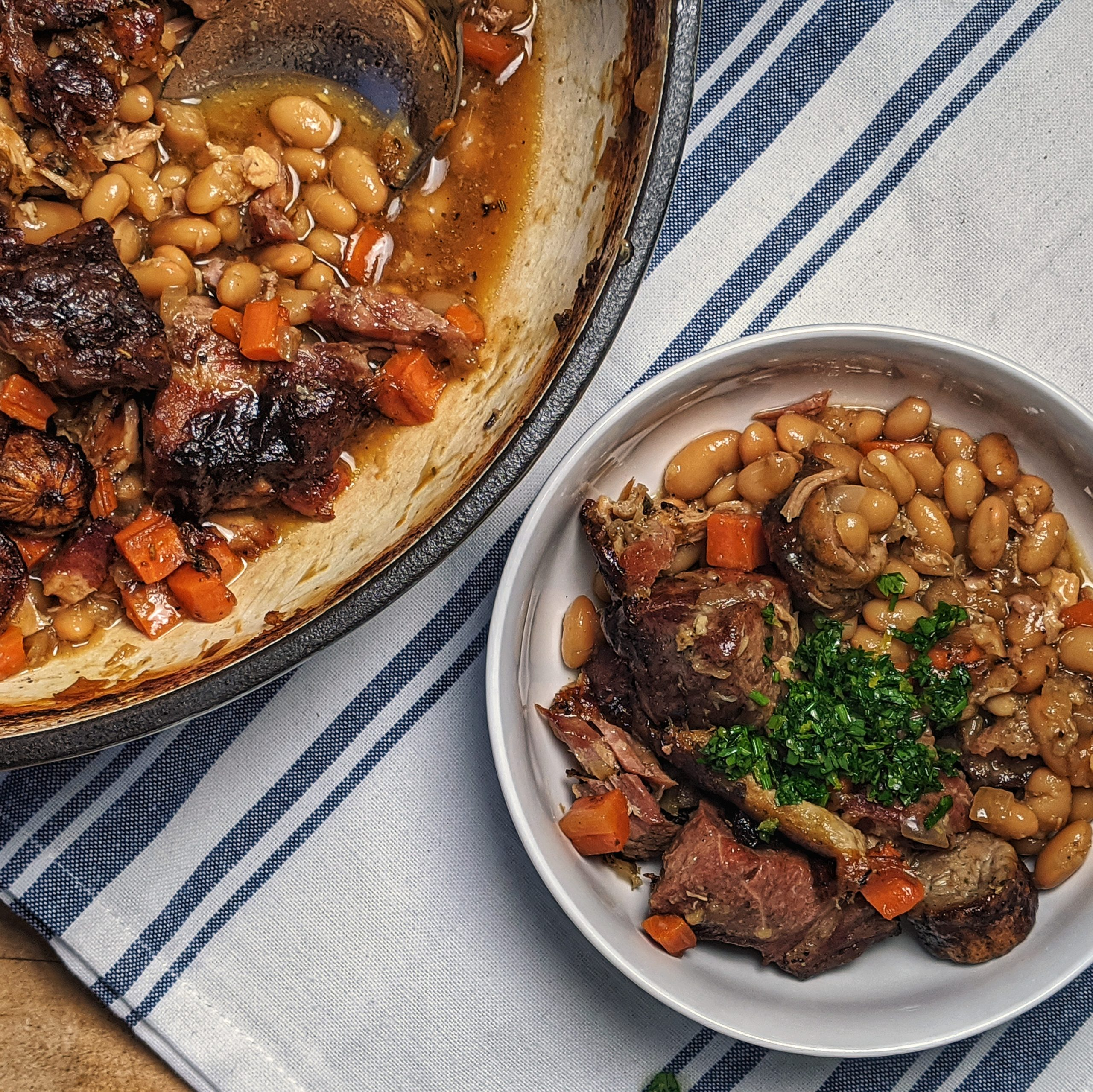 pork cassoulet