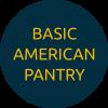 Basic American Pantry